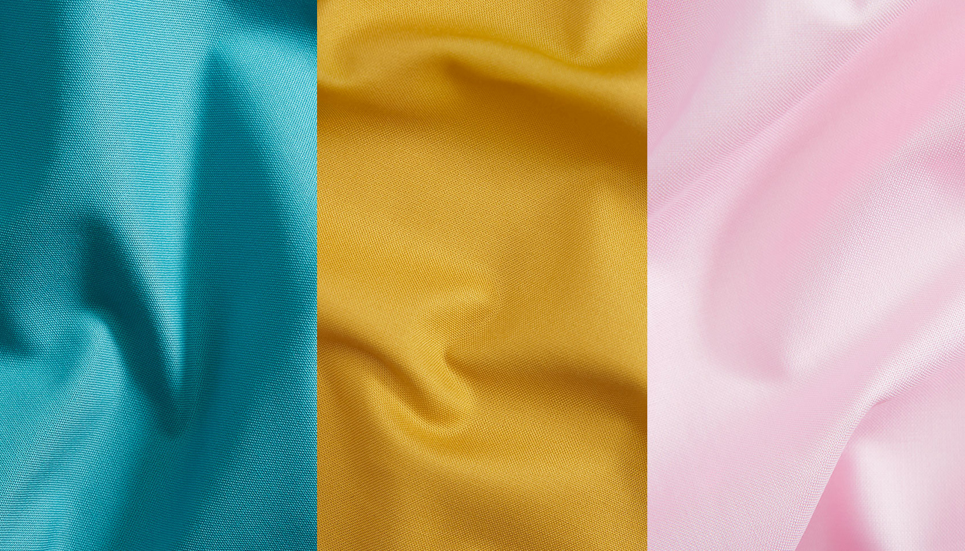 Petal solids colors: Lagoon, Mustard and Cotton Candy
