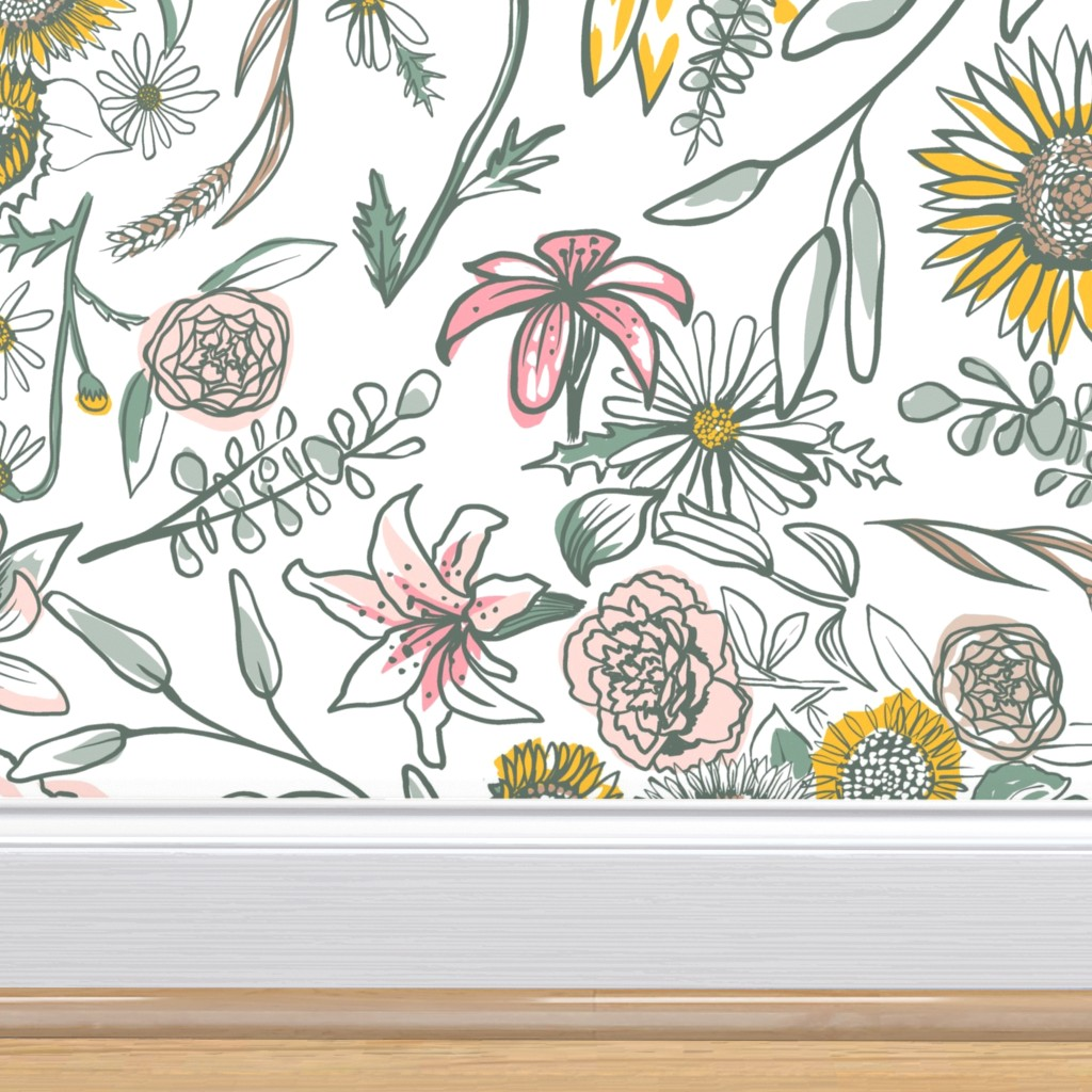 sage wallpaper pattern