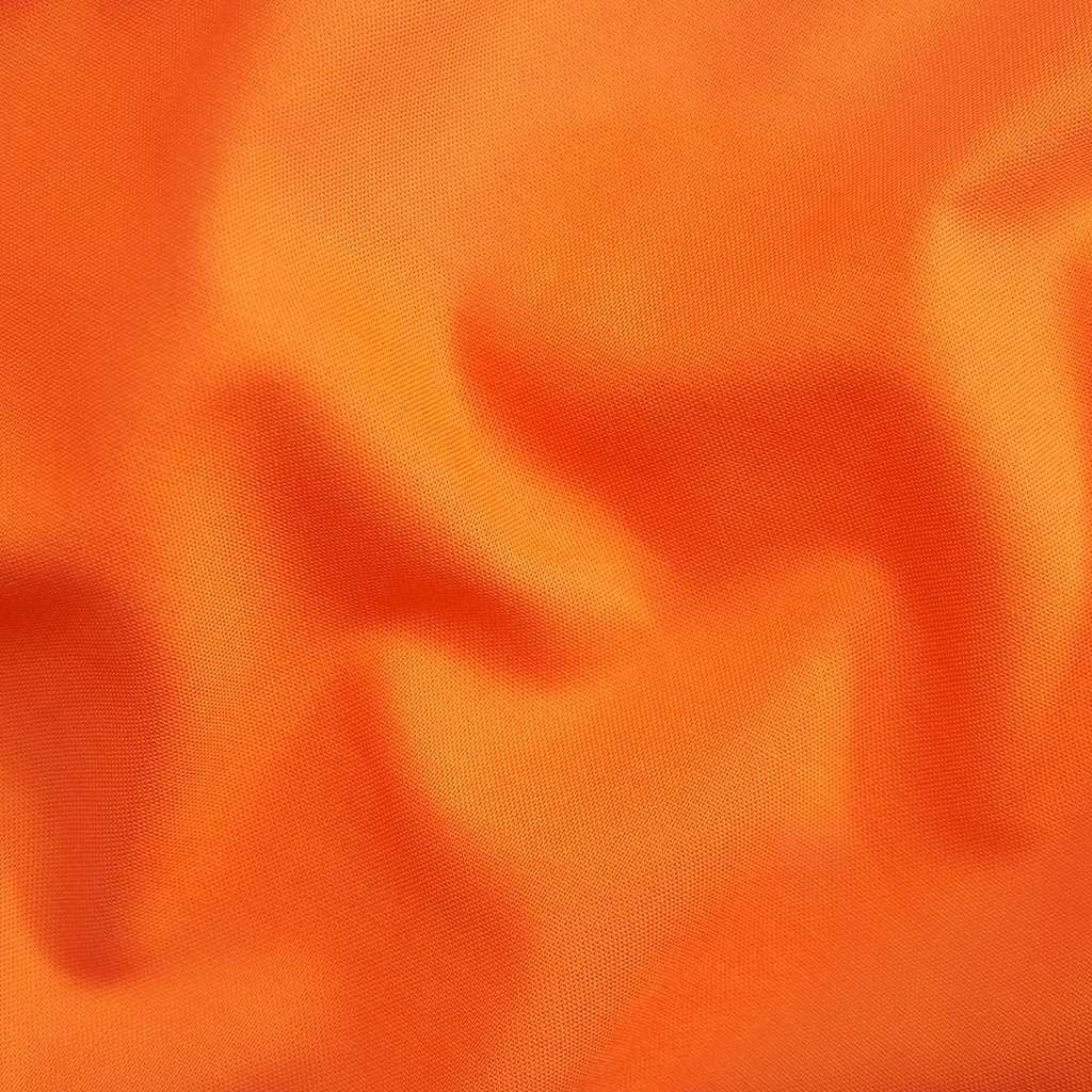 Carrot orange solid fabric