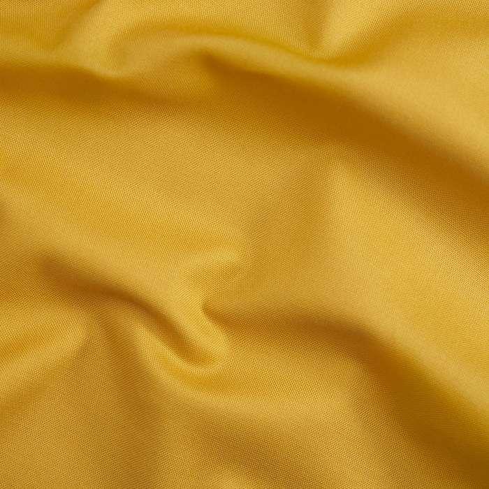 Deep mustard yellow solid fabric