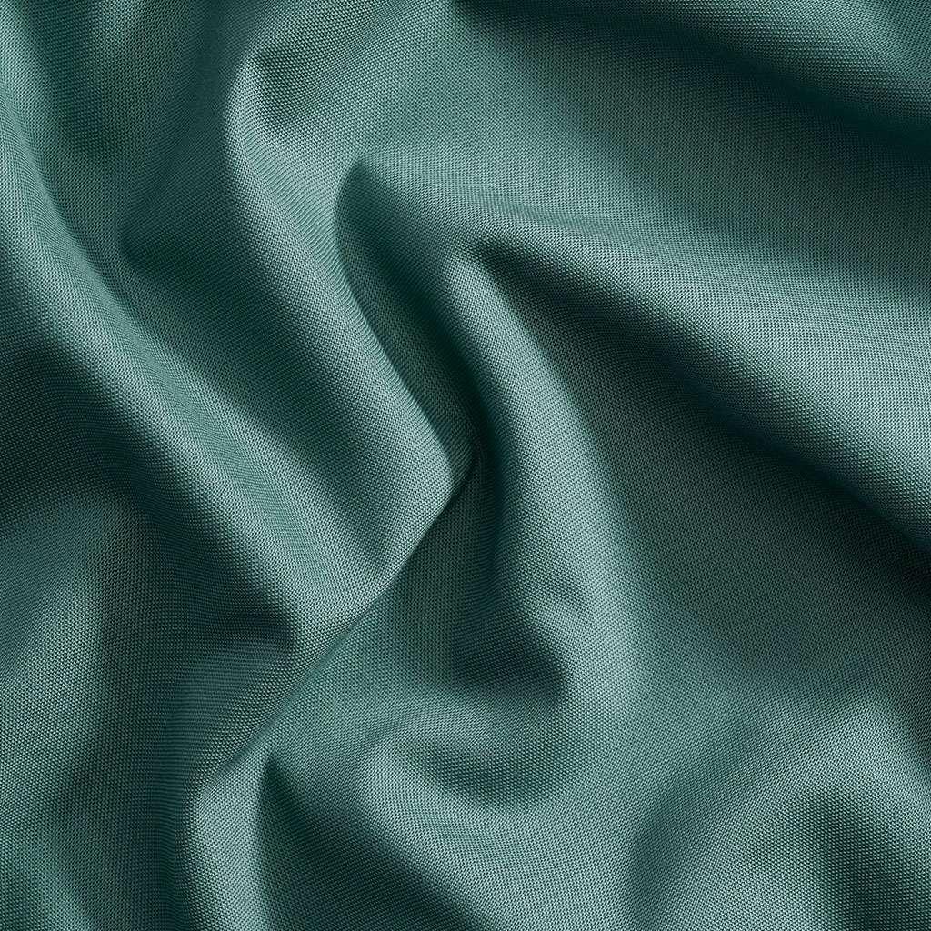 Dark pine green solid fabric