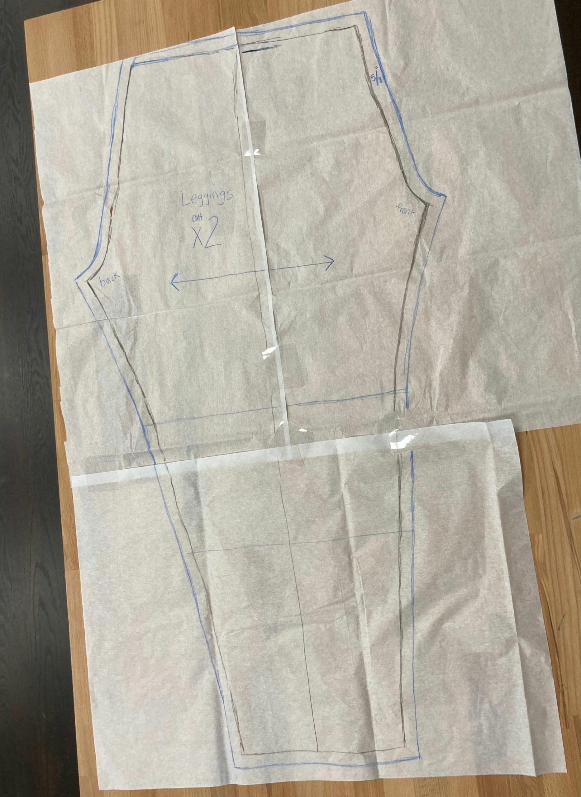 Final leggings pattern